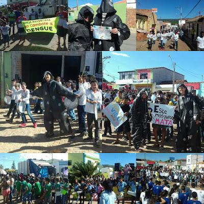 """Campanha """"Juntos somos mais fortes"""" ganhou as ruas de Gentio do Ouro"""