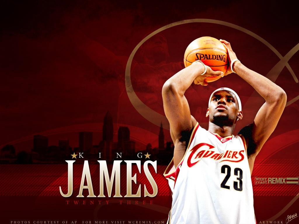 Basketball Players: LeBron James Professional Basketball Player Wallpapers