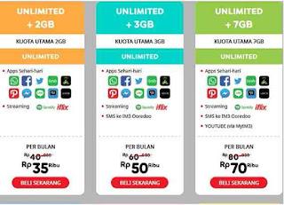 cara-daftar-paket-Internet-Unlimited-Indosat-mentari-dan-cara-beli-paket-Indosat-Im3