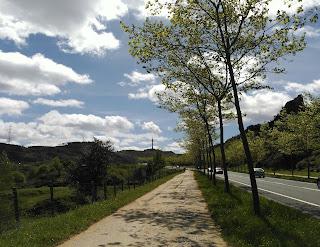 Carretera de Burzako a la Arboleda