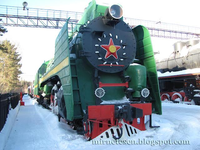 Новосибирск - музей железной дороги