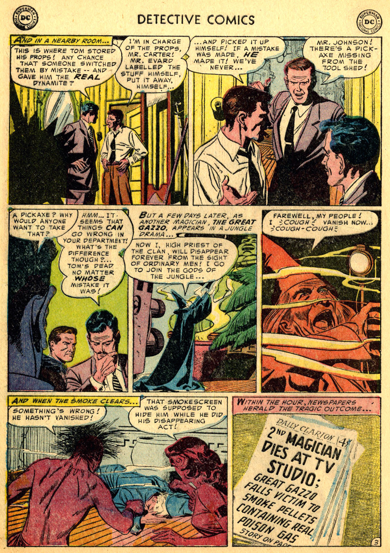 Read online Detective Comics (1937) comic -  Issue #205 - 36