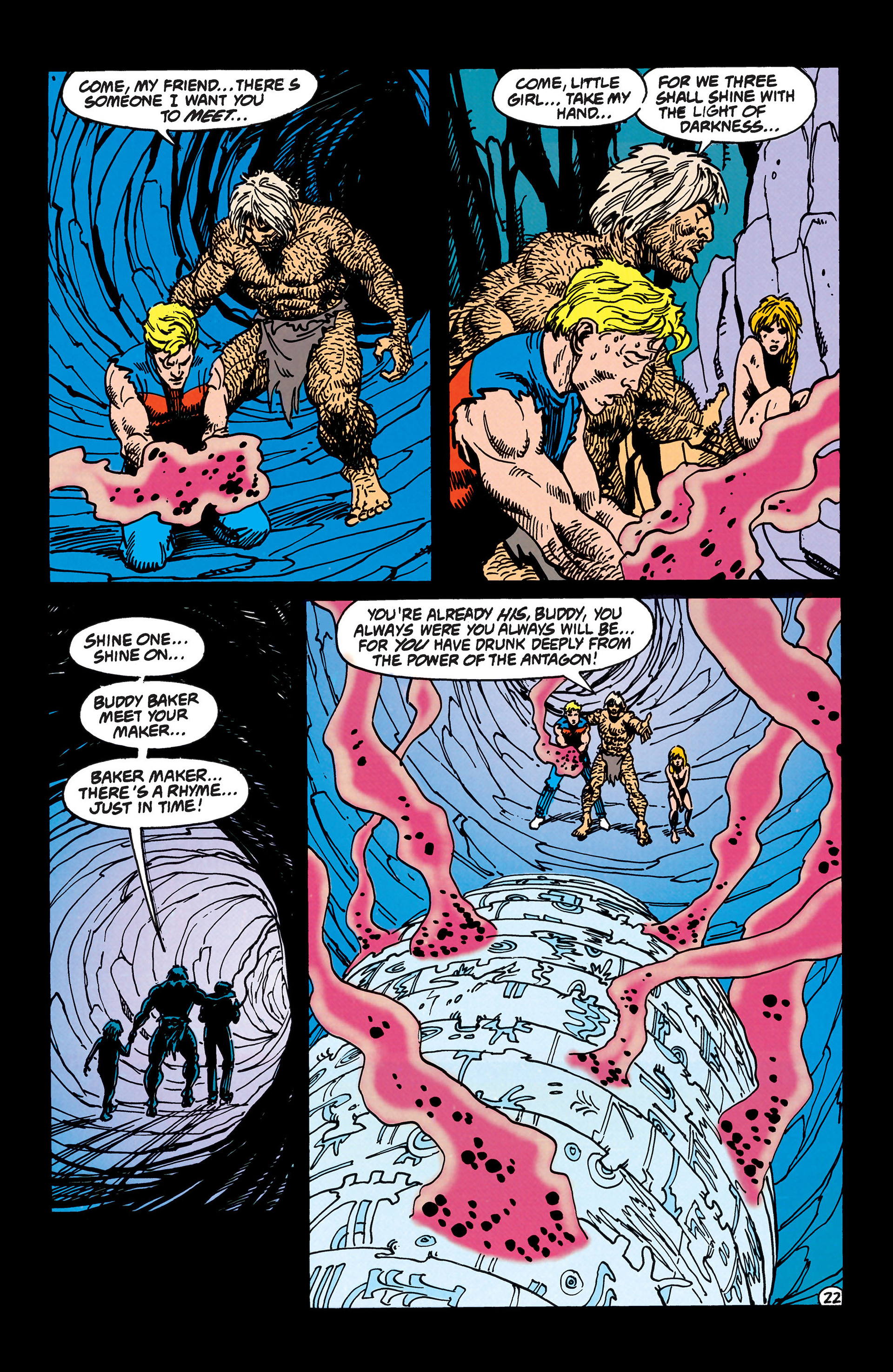 Read online Animal Man (1988) comic -  Issue #47 - 23
