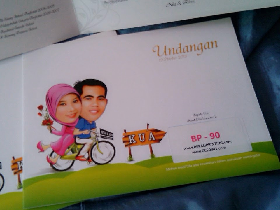 Undangan Soft Cover