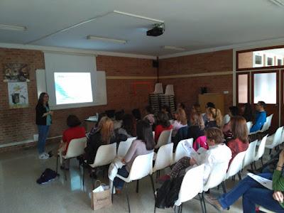 Charla cómo gestionar las emociones Colegio Maria auxiliadora Zaragoza