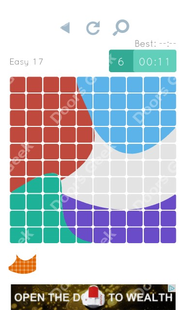 Cheats, Walkthrough for Blocks and Shapes Level 17