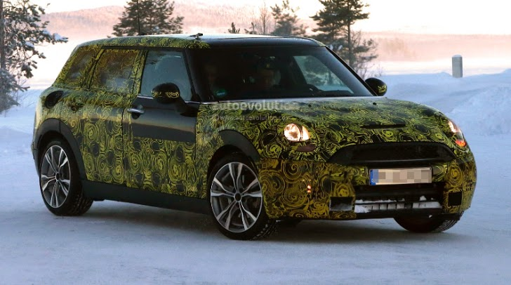 Mini Clubman Awd Plug In Hybrid Due Late 2017