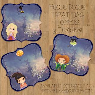 hocus pocus party printables