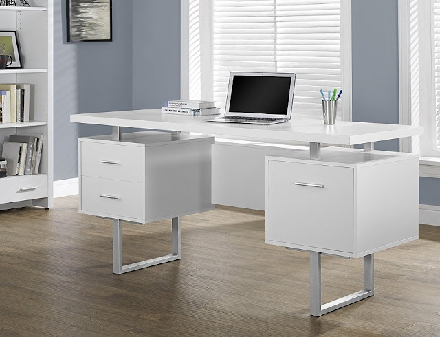 best buy modern white metal office furniture for sale online