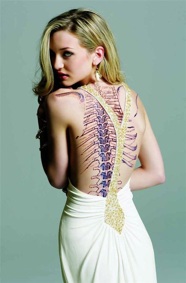 Most Tattooed Woman Nude