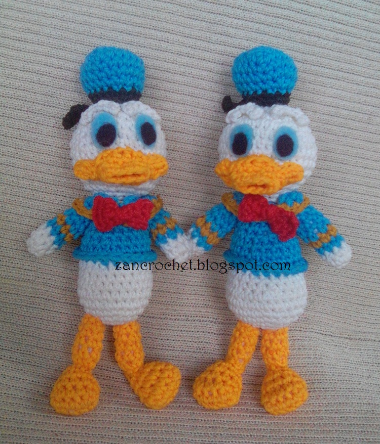 Donald Duck - NL Translation ~ Zan Crochet