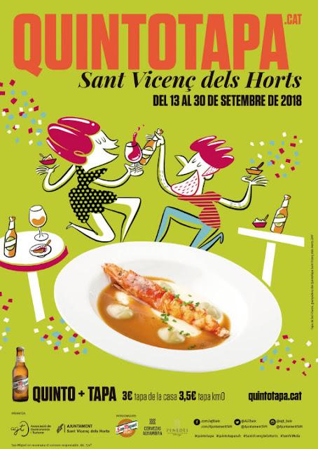 Nova edició del QuintoTapa a Sant Vicenç dels Horts