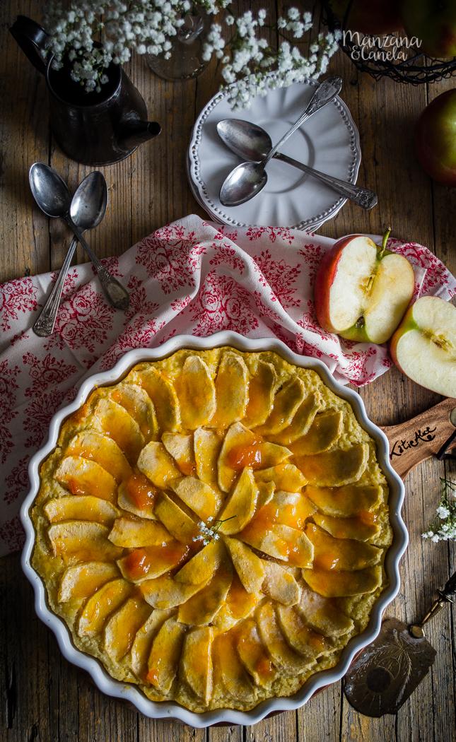 Tarta de manzana sin azúcar. Receta con y sin Thermomix.