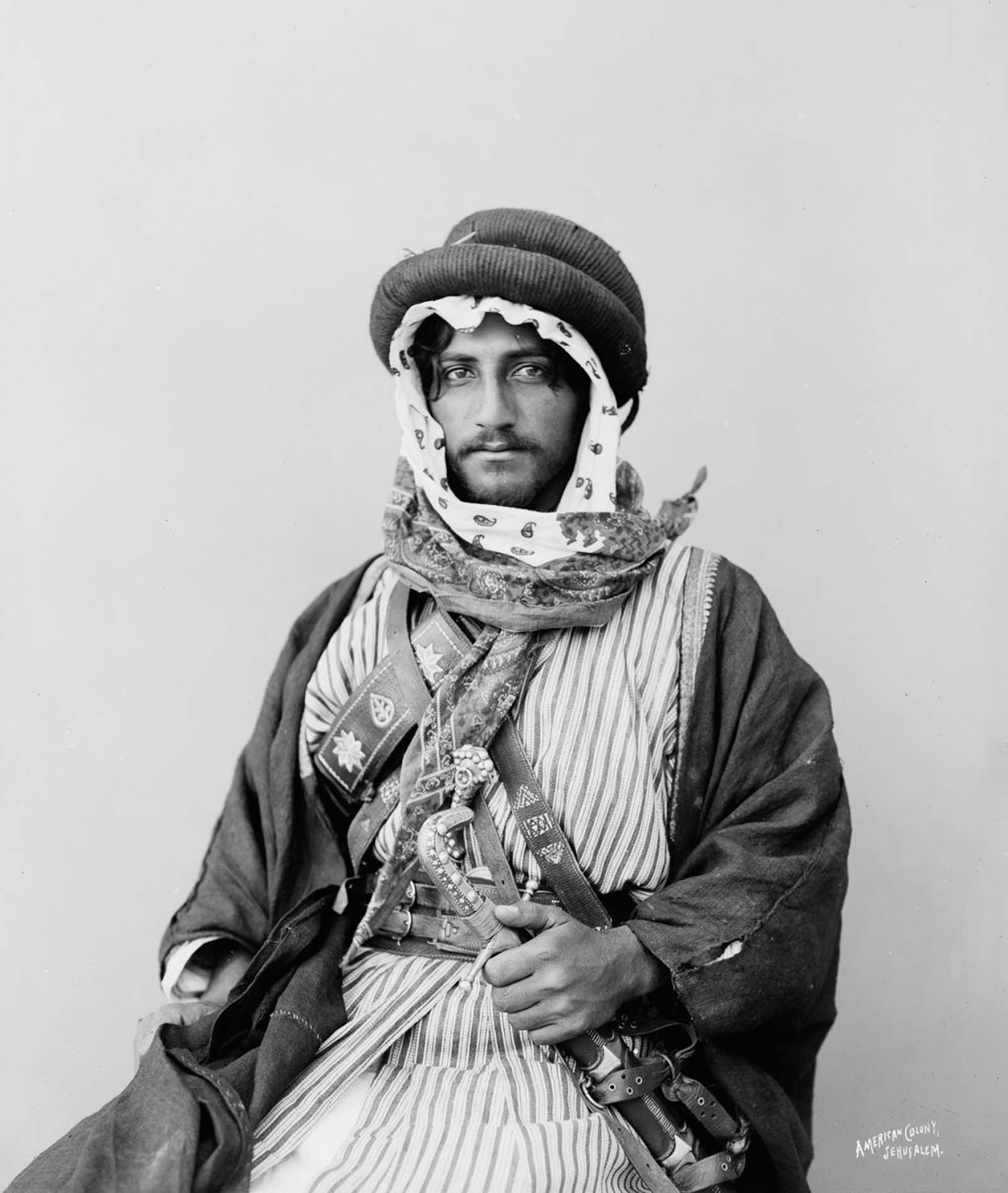 The Bedouins were traditionally divided into related tribes.