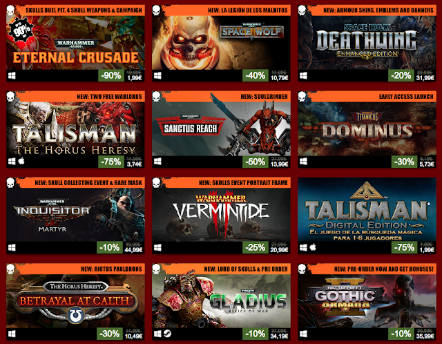 ofertas warhammer steam