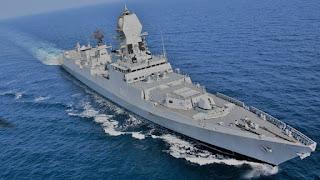 Kapal Perang India INS Kolkata