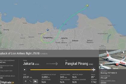 Aplikasi ini Berhasil Mendeteksi Jatuhnya Pesawat Lion Air JT610