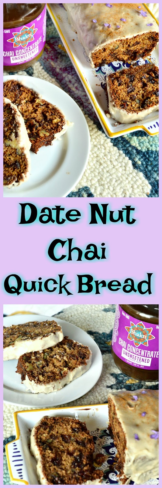 This date nut chai bread, studded with walnuts, dates and dark chocolate is also full of the intoxicating flavors of gingery chai. Consider yourself enlightened by this chai bread. Perfect served with your favorite cup of chai! www.thisishowicook.com