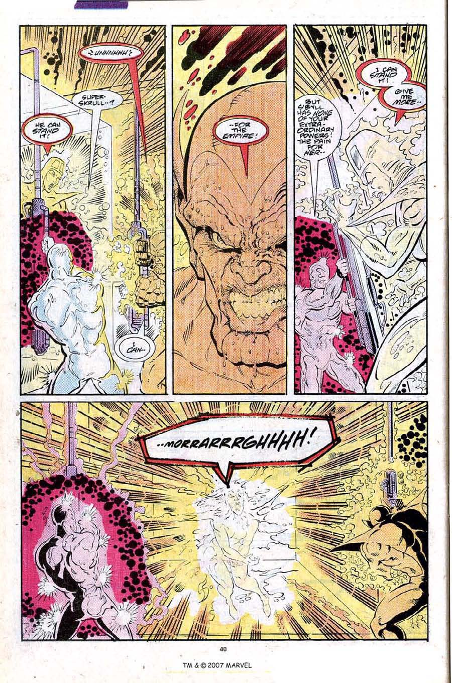 Read online Silver Surfer (1987) comic -  Issue #25 - 42