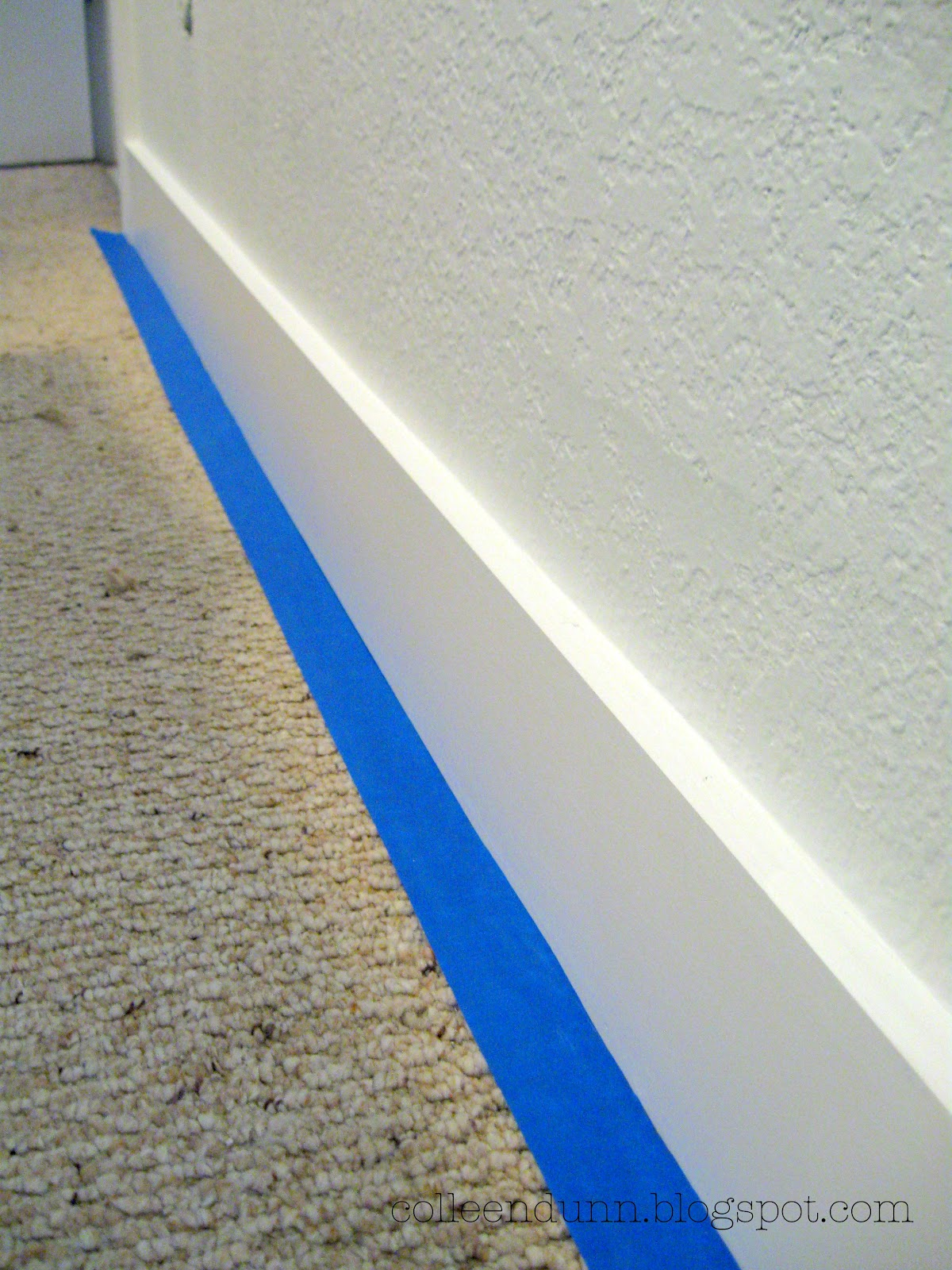 One More Thing Painting Baseboards With Carpet