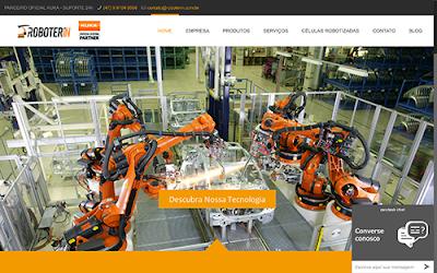 Automação com Robôs Industriais