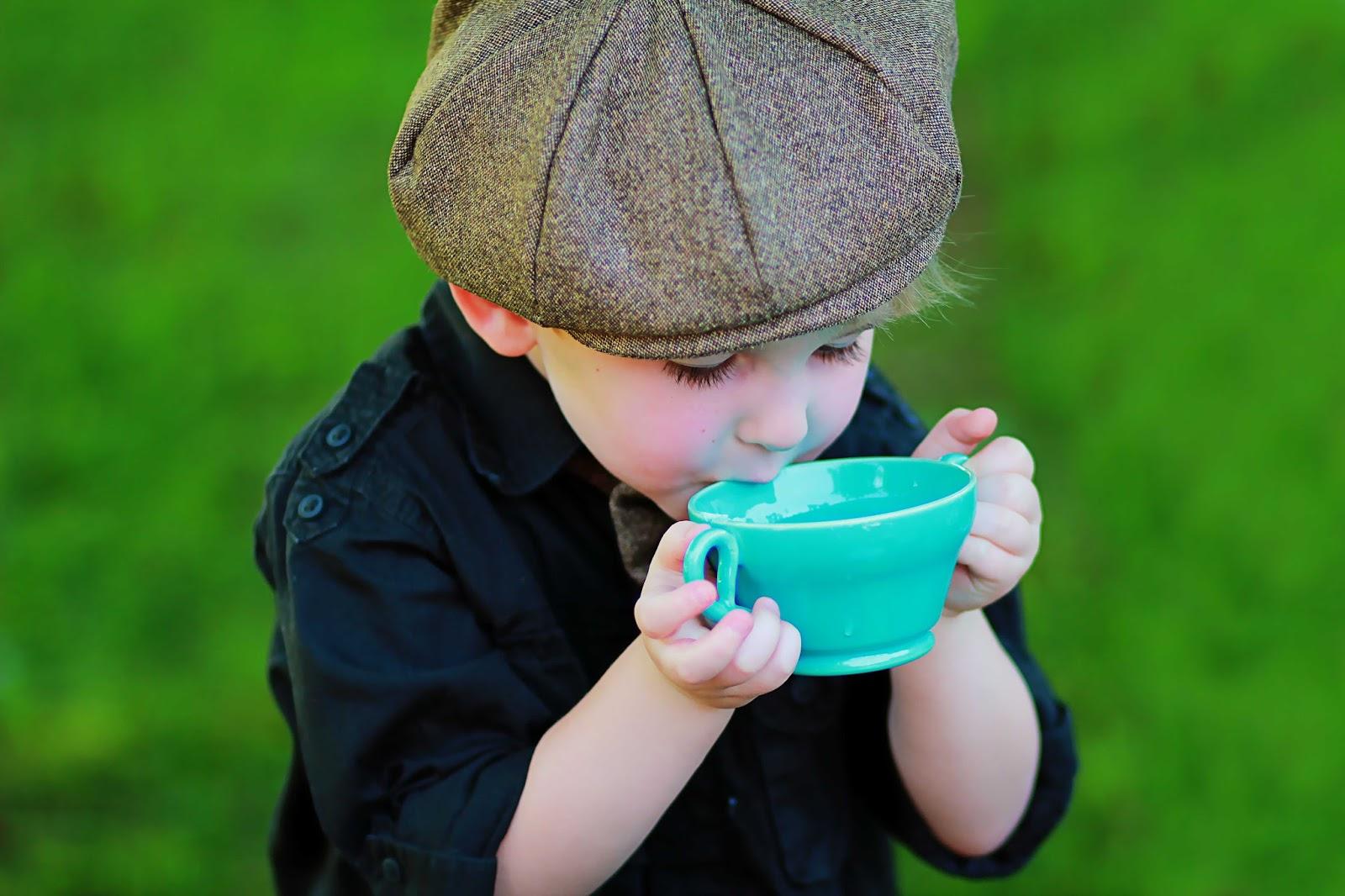 Capes Amp Crowns Little Gentleman S Tea Party