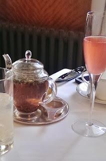 afternoon tea at  Bettys Café Tea Room, York