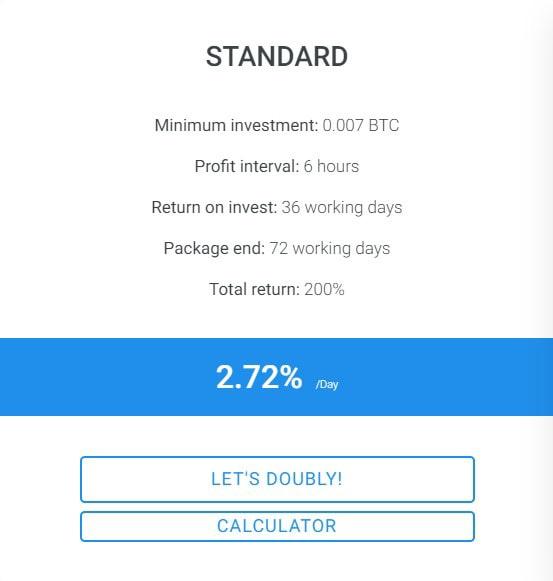 Инвестиционные планы Doubly