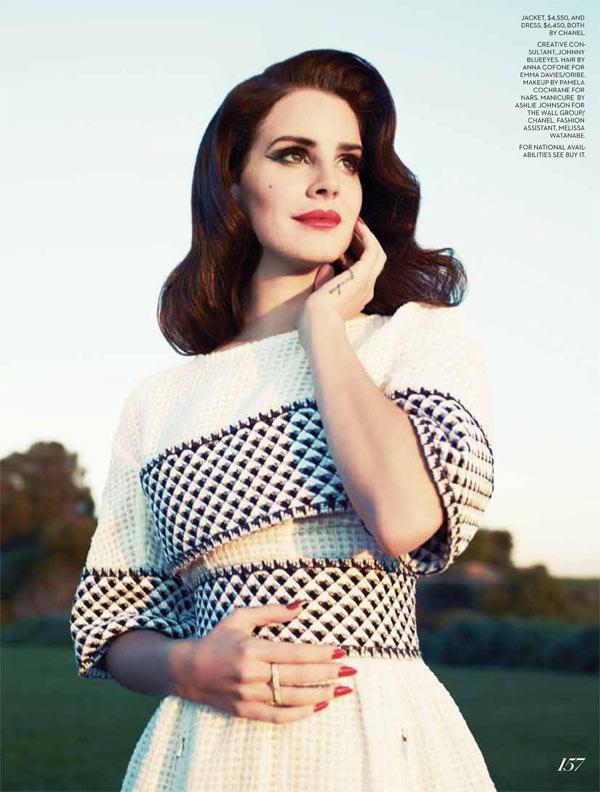 Smartologie Lana Del Rey For Fashion Magazine Summer 2013 Full Editorial