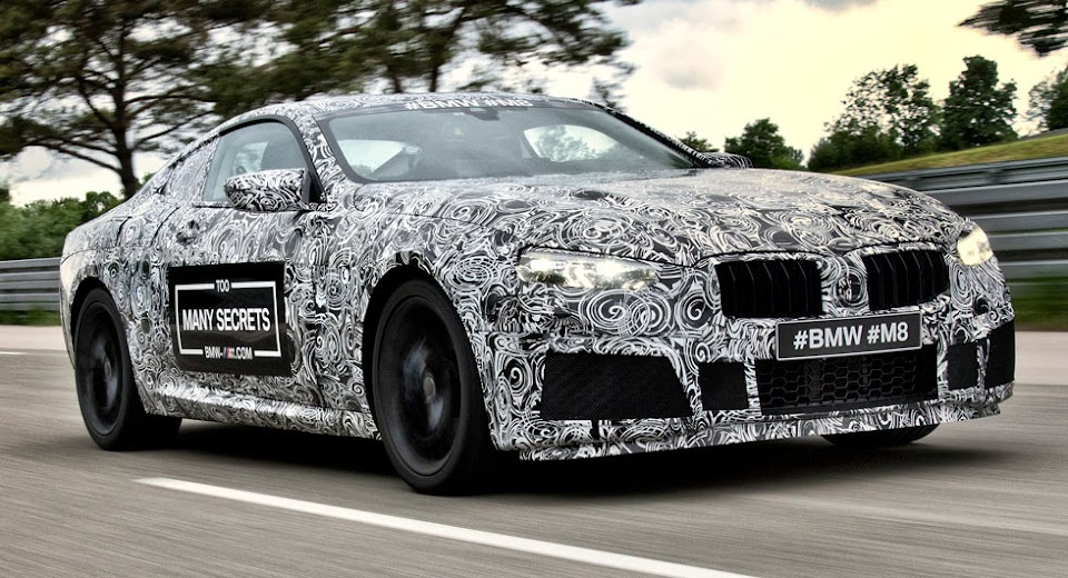 Its Official A BMW M8 Is Happening And This It