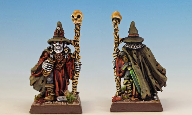 Heinrich Kemler, painted miniature for Terror of the Lichemaster