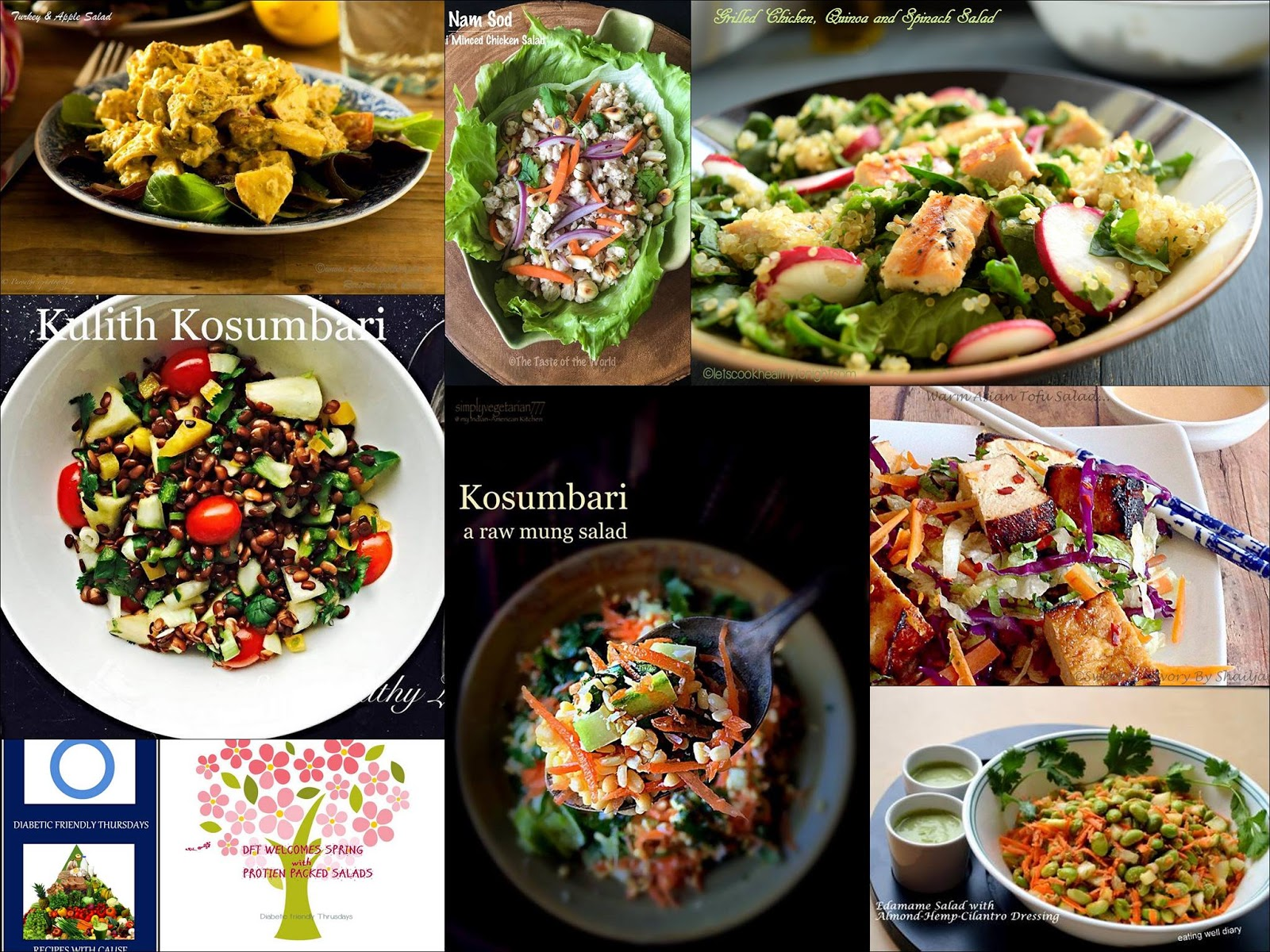 Sus healthy living kulith kosumbari horse gram salad diabetes cleansing of house and yards discarding the old and welcoming the new lets begin the onset of spring with some healthy protein packed salads forumfinder Gallery