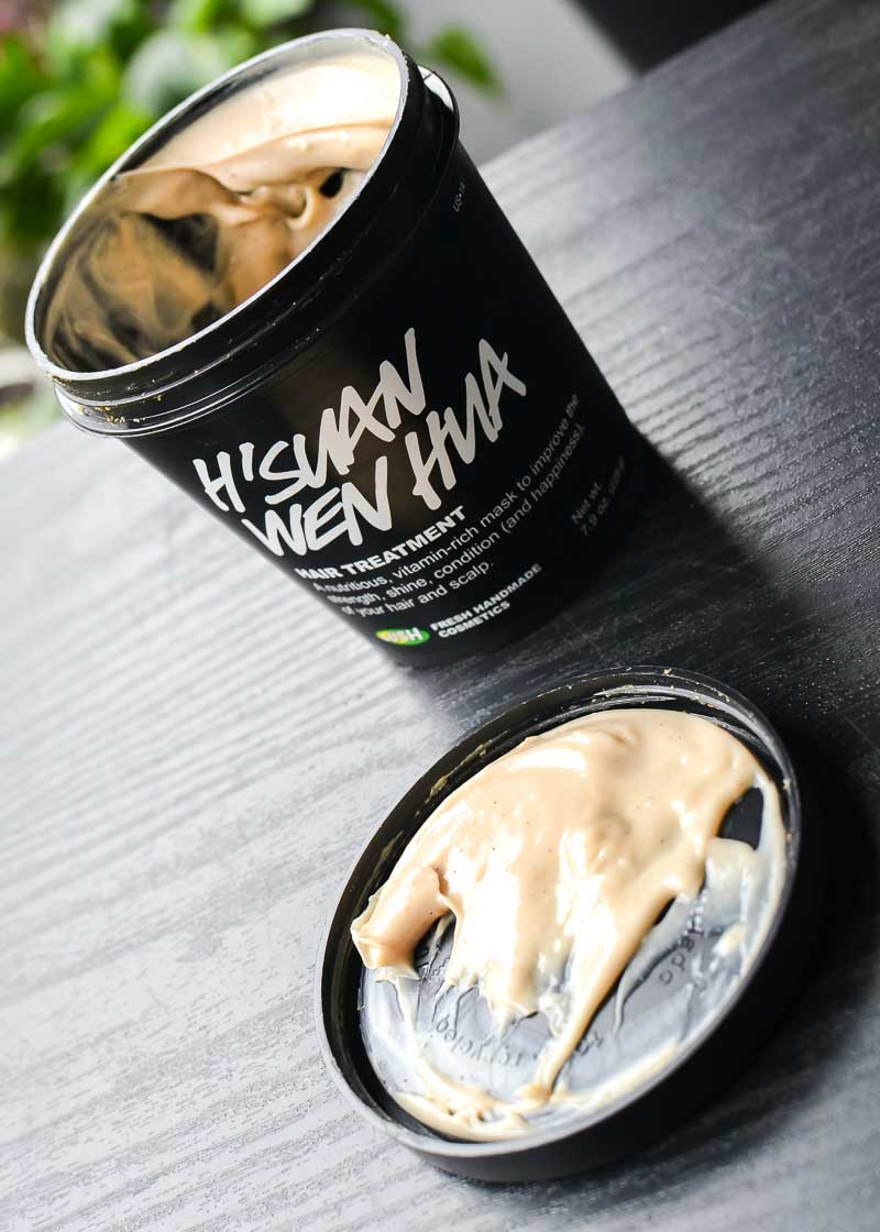 Lush Hsuan Wen Hua Hair Treatment Mask - Review