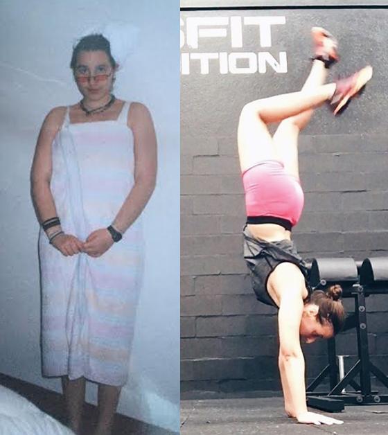 perda de peso e superação