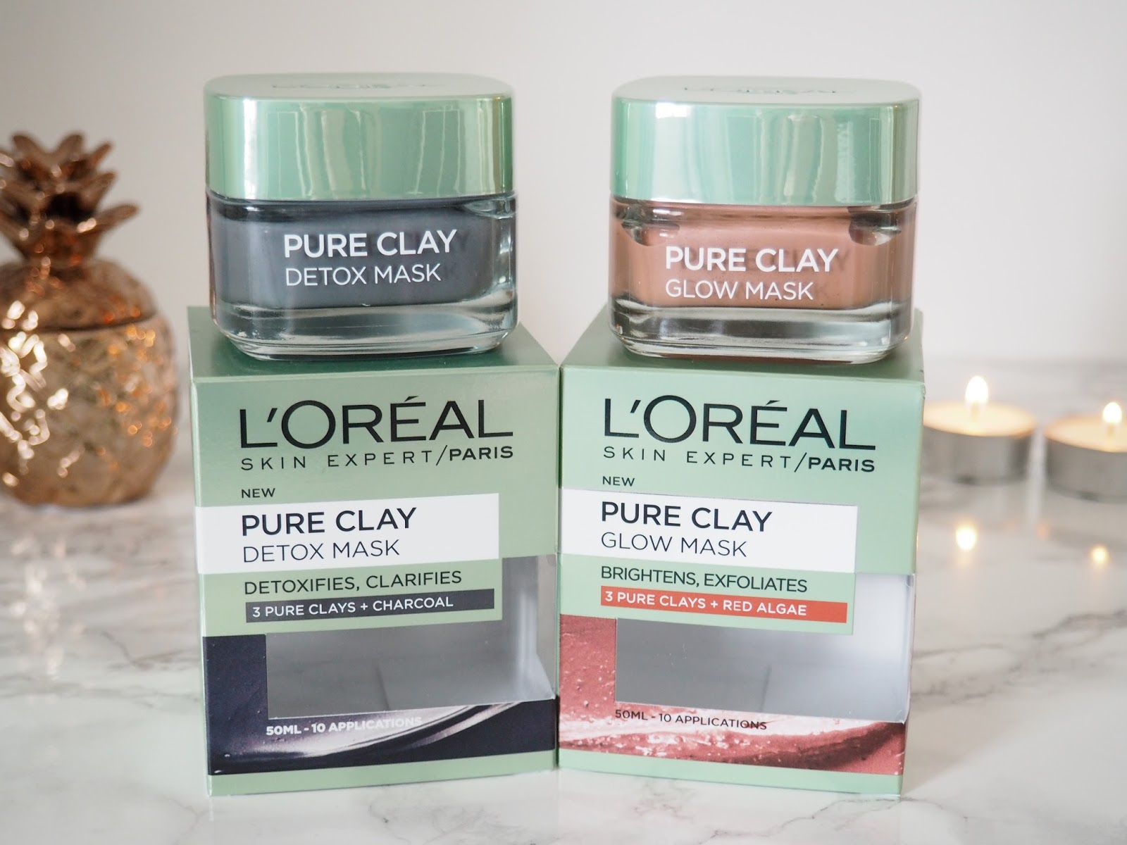 L'Oréal pure clay mask review skincare beauty Priceless Life of Mine