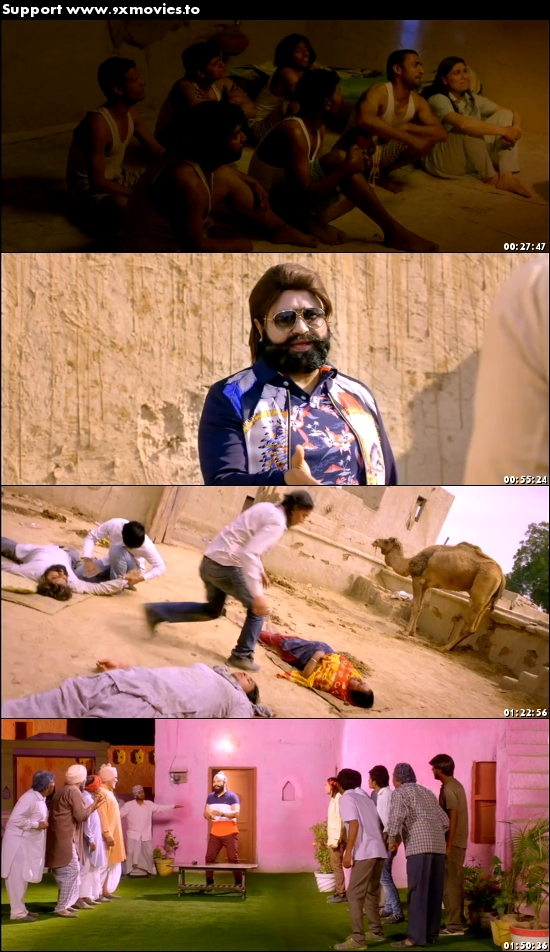 Jattu Engineer 2017 Hindi 480p DVDRip 400mb
