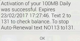 Get 100mb or more on your mtn sim for free