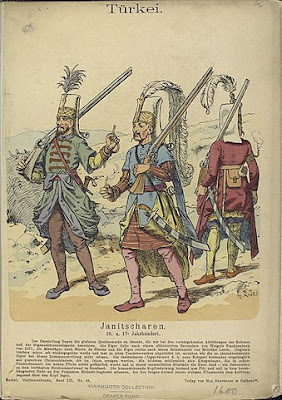 Sketch of Janissary