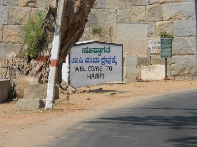 The Hitchhiker's journey to the Hampi