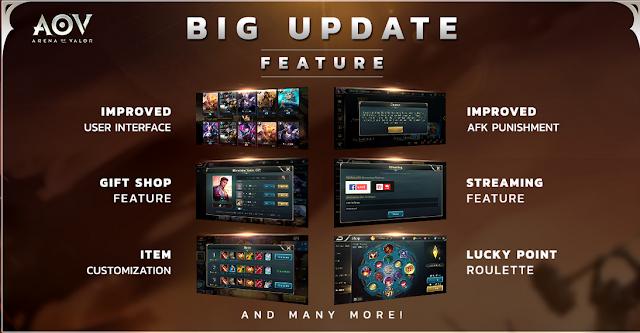 Big Update Season 3 Di AOV Size Kecil - Lumayan Hemat!