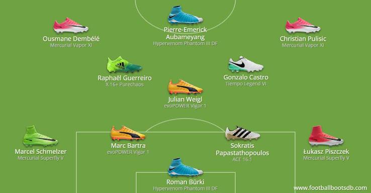 Il Borussia di Aubameyang e Reus
