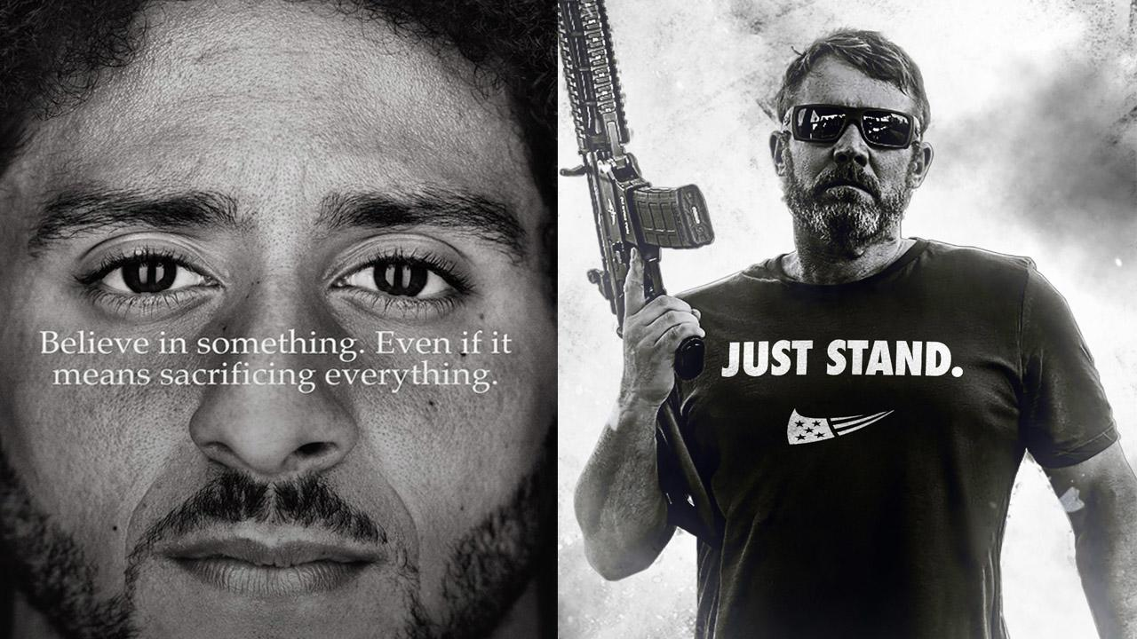 f32527c6ea4c75 Army veteran s company releases  Just Stand  T-shirt in opposition to  Nike s Colin Kaepernick ads