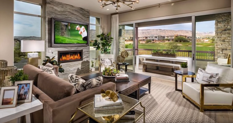 10 Photos vs. Fairway Hills at the Ridges Las Vegas, NV vs. New Home Interior Design Tour