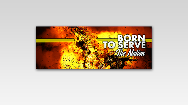 Download FREE PSD Facebook Timeline Cover design for Military Soldier Free for Personal and Commercial use