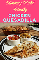 quesadillas  slimming world recipe