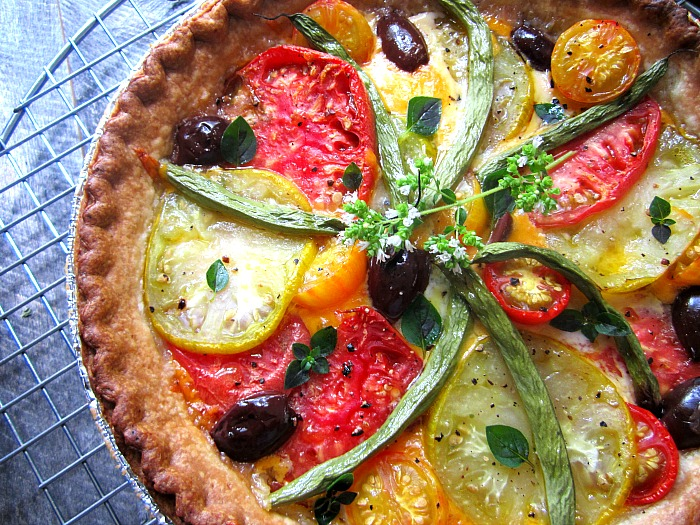 Stacey Snacks: French Tomato Tart Revised