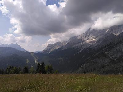 Vista delle dolomiti della Val di Zoldo a Palafavera