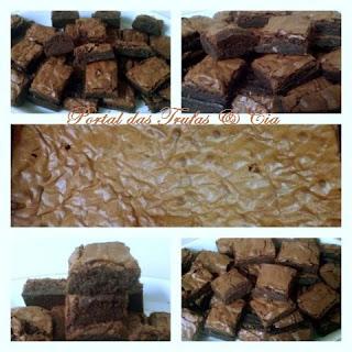 meu primeiro brownie