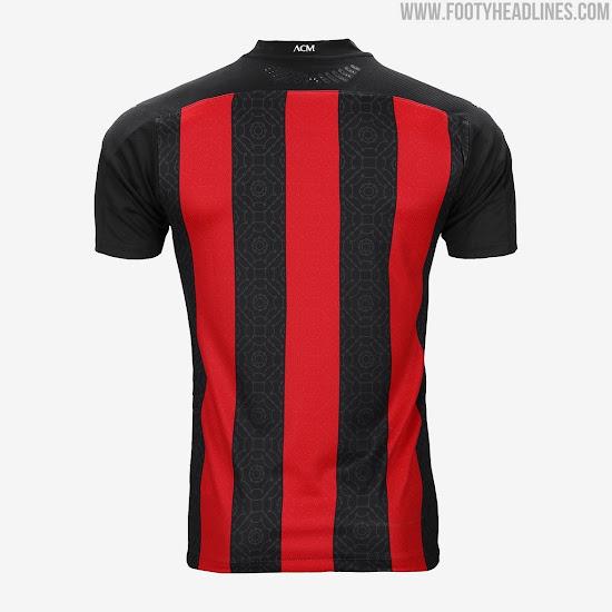 AC Milan 20-21 Home Kit Released - Footy Headlines