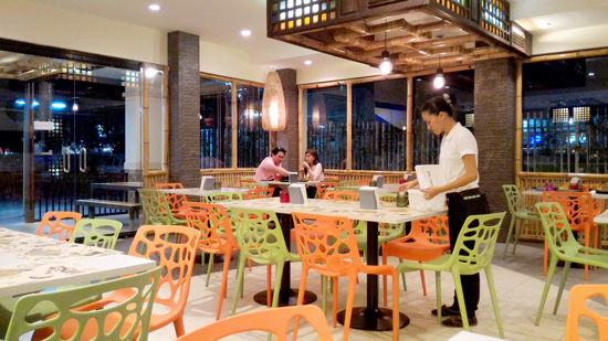 Filipino Comfort Food Davao's modern Filipino, traditional interior
